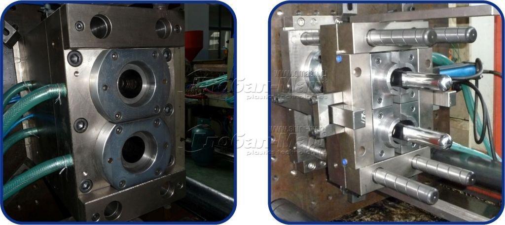 Термопластавтомат для производства ПЭТ преформ